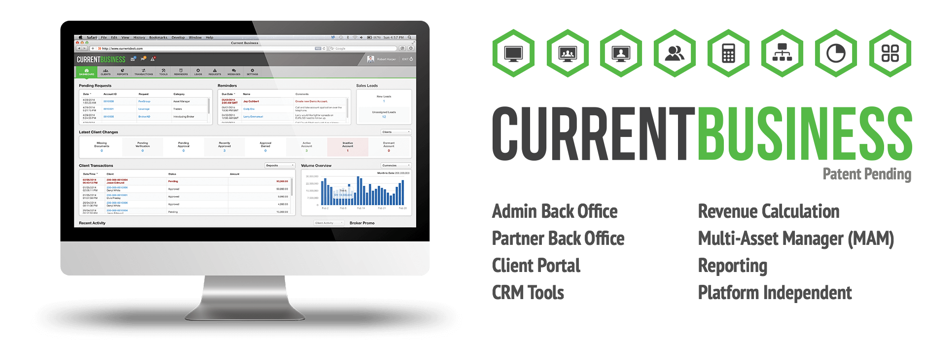 CurrentBusiness - Forex Brokerage CRM