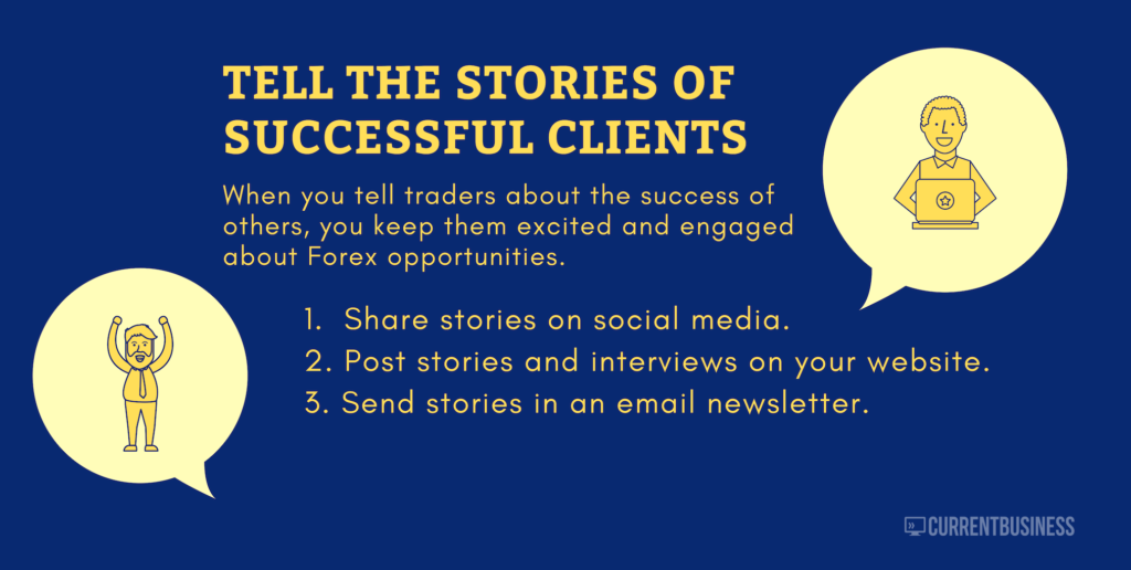 Talk about successful forex clients
