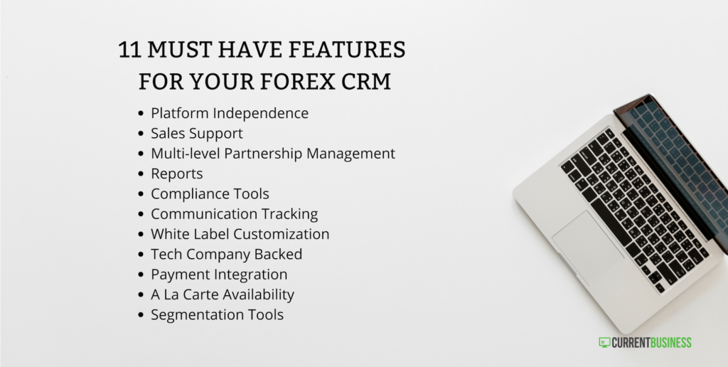 11 must have crm features list