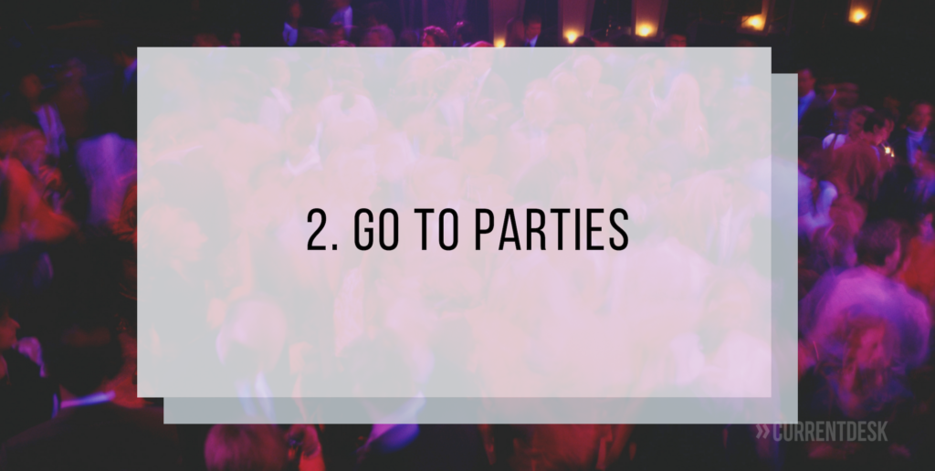 Attend iFX Expo Parties