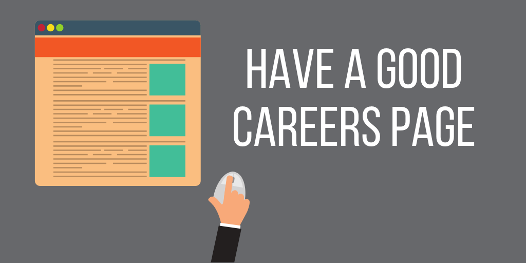 Have a Careers Page