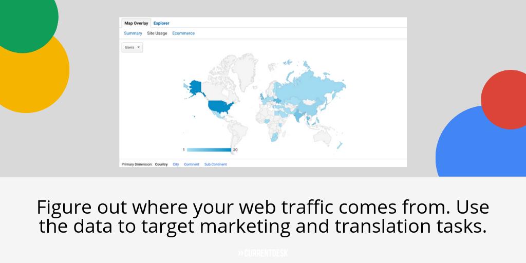 Web Traffic Map